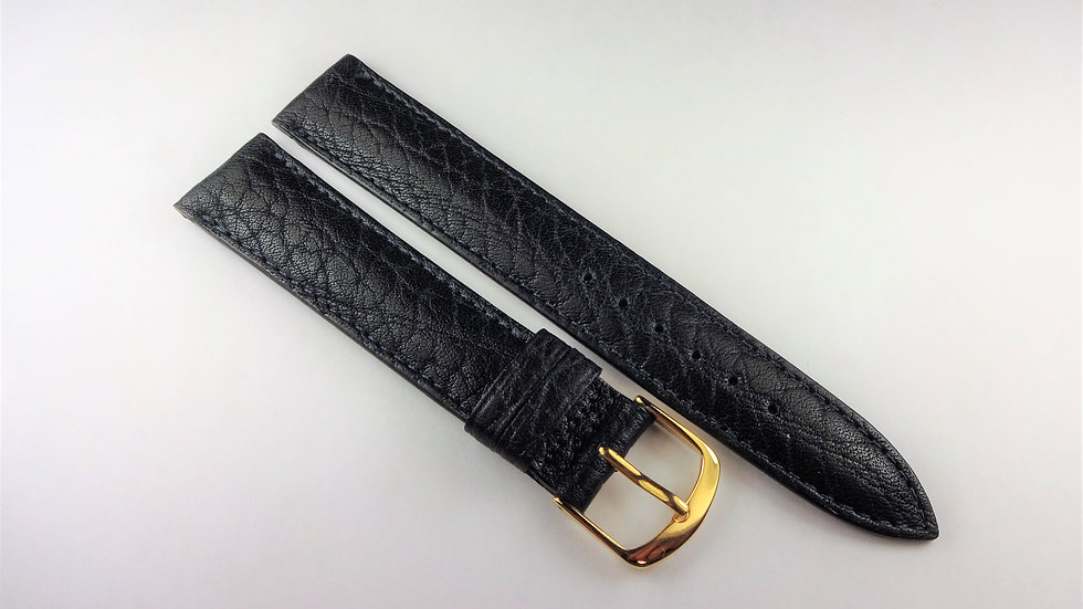 Replacement 17mm Blue Genuine Pampa Leather