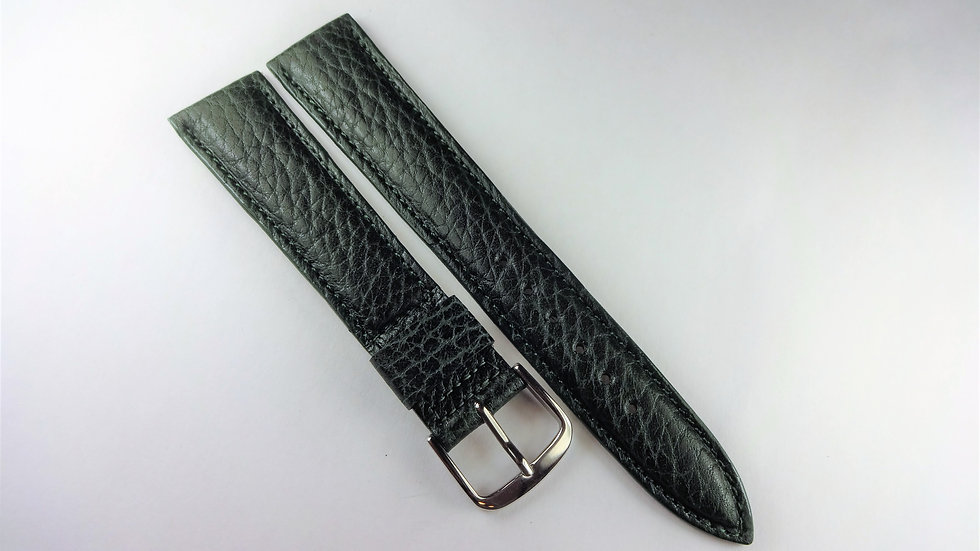 Seiko 18mm Green Genuine Leather