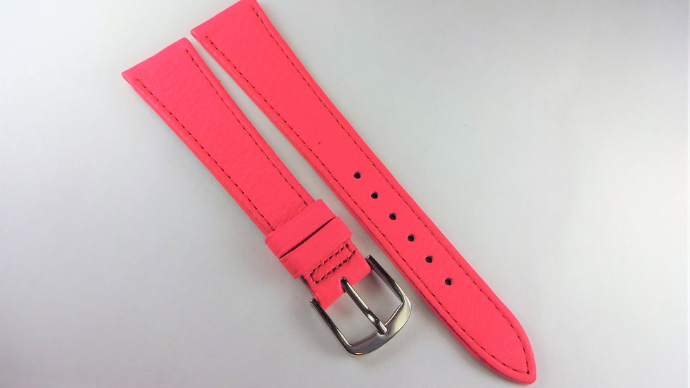 Replacement 18mm French Fuchsia Genuine Leather