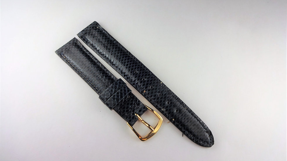 Replacement Navy Blue 15mm Genuine Reptile