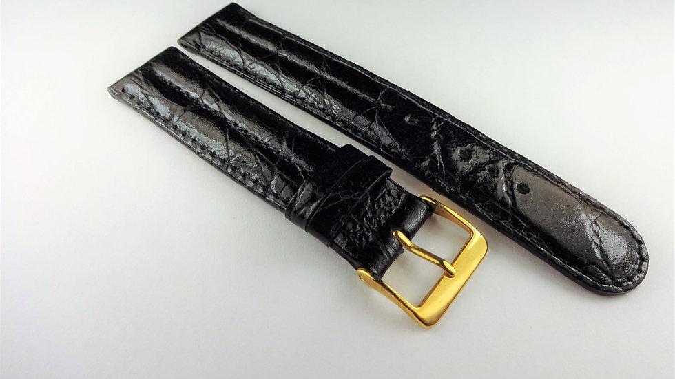 Cole Haan 18mm Black Genuine Calfskin