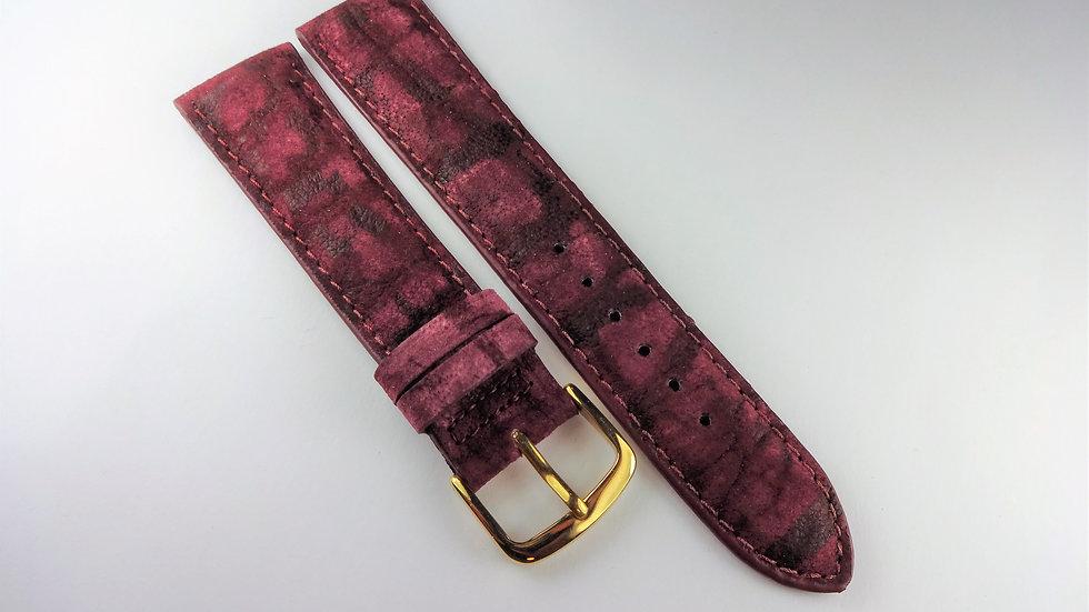 Replacement 20mm Purple Genuine Velvet Bison