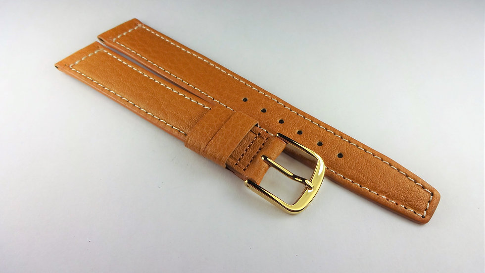 Hamilton 16mm Tan Genuine Waterproof Leather