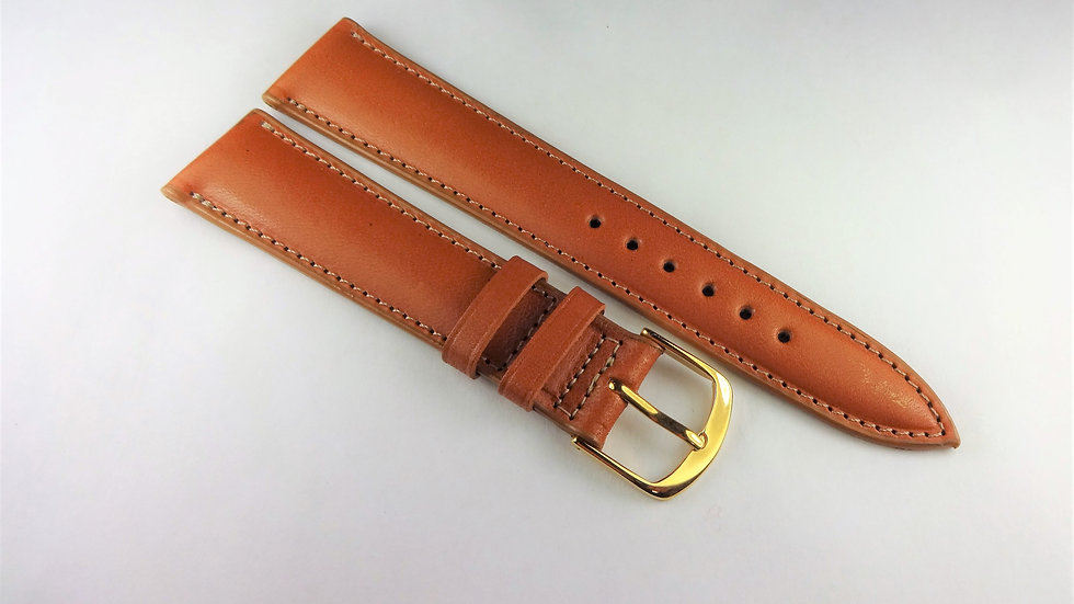 Replacement 19mm Tan Genuine Western Leather