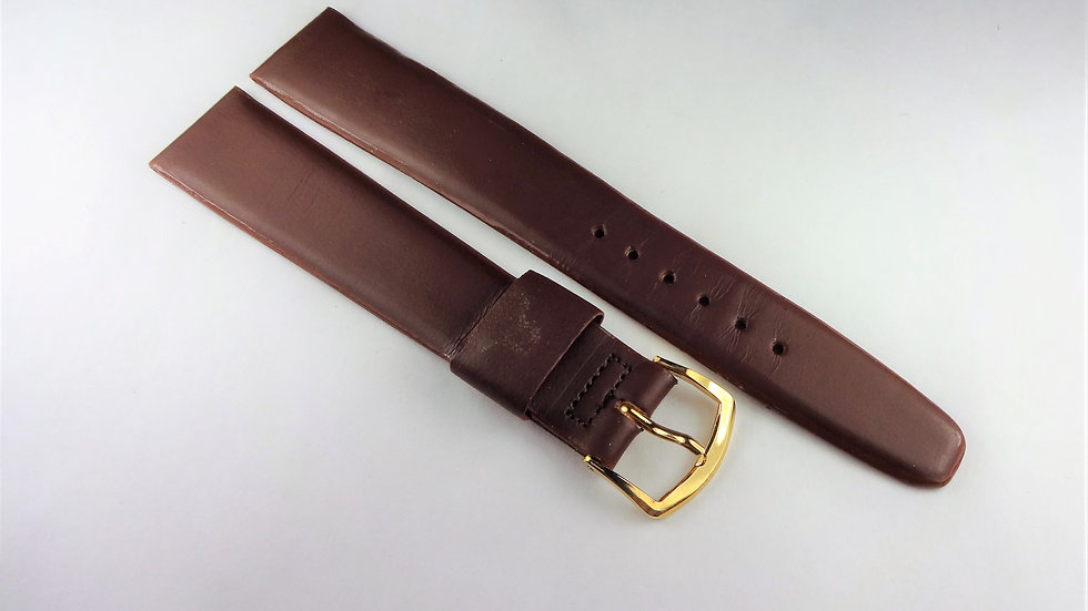 Replacement Speidel 19mm Brown Genuine Leather