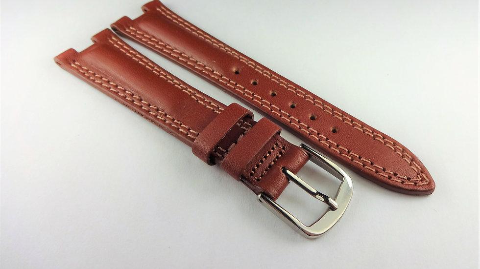Fendi 18mm Tan Genuine Leather