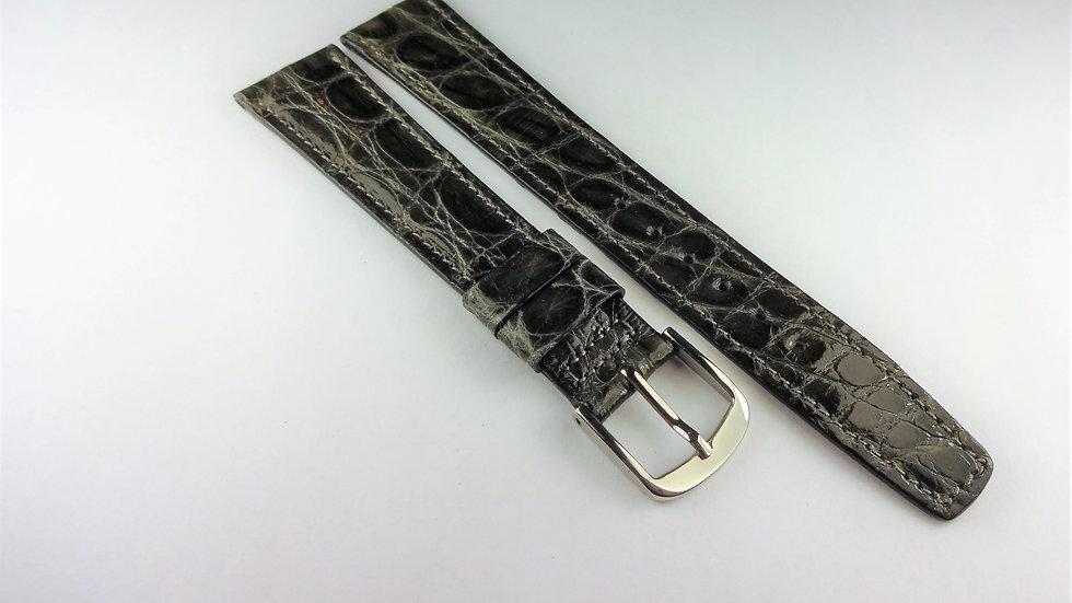 Hamilton 18mm Gray Genuine Crocodile