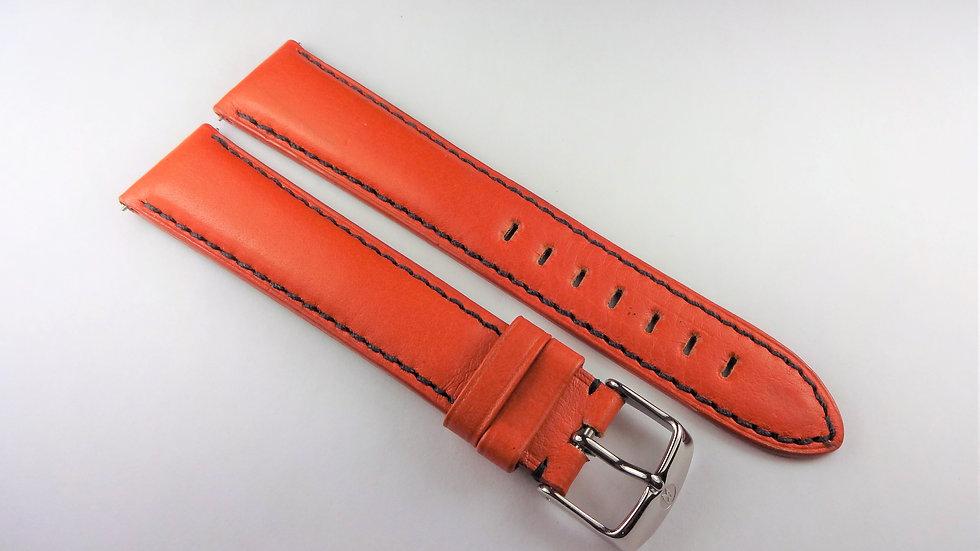 Michele Orange 20mm Genuine Leather