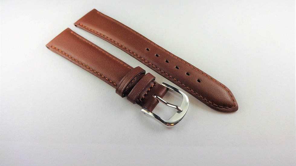 Replacement Box Leather 16mm Brown Short