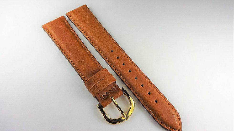 Replacement 18mm Tan Genuine Waterproof Leather