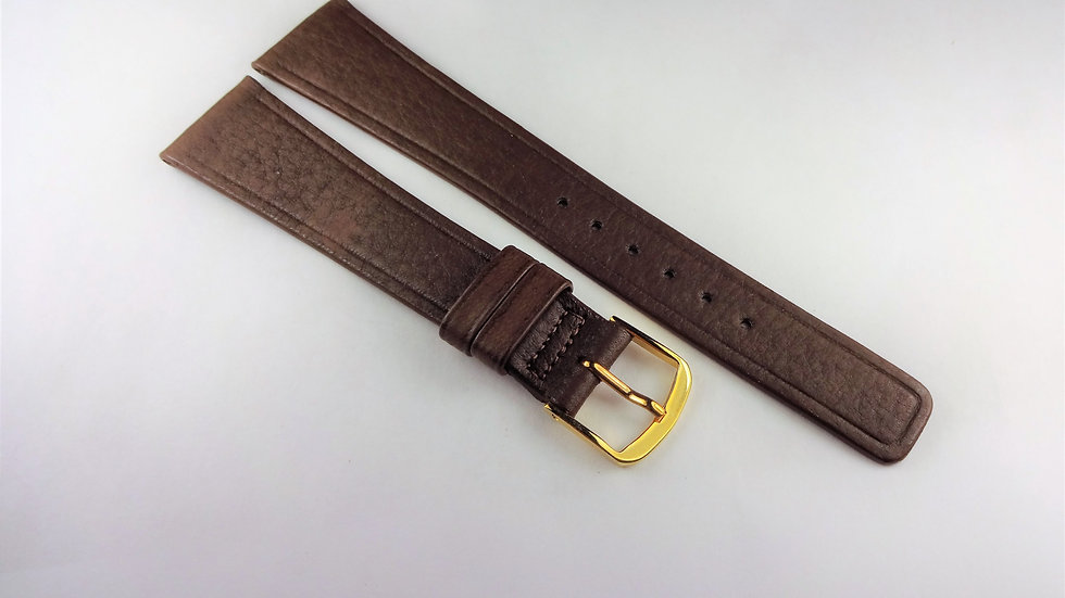 Replacement 19mm Dark Brown Genuine Wild Deerskin