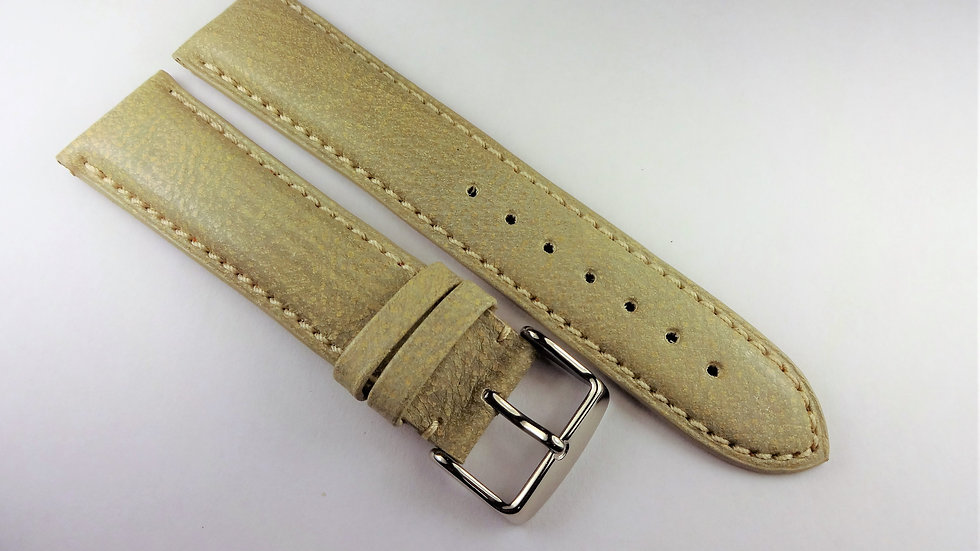Replacement 22mm Light Olive Genuine Leather
