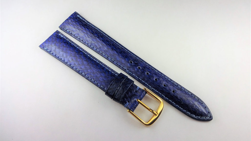 Replacement 17mm Blue Genuine Salmon