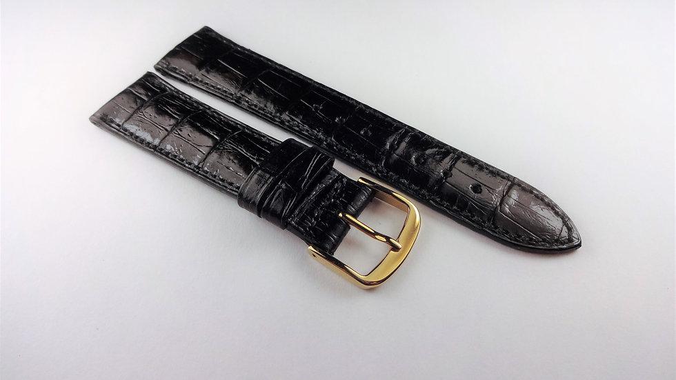 Wittnauer Black Calfskin Leather 18mm Short