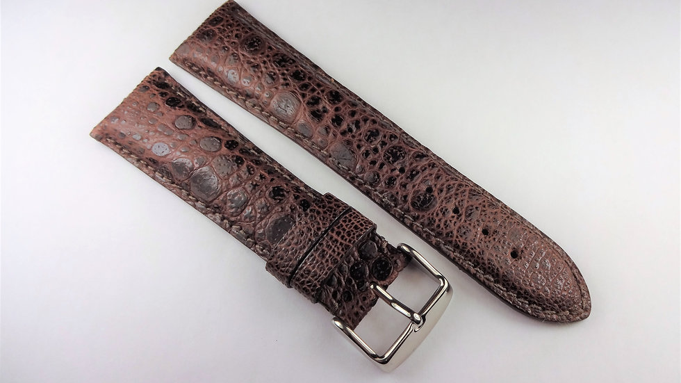 Replacement 24mm Brown Genuine King Frog