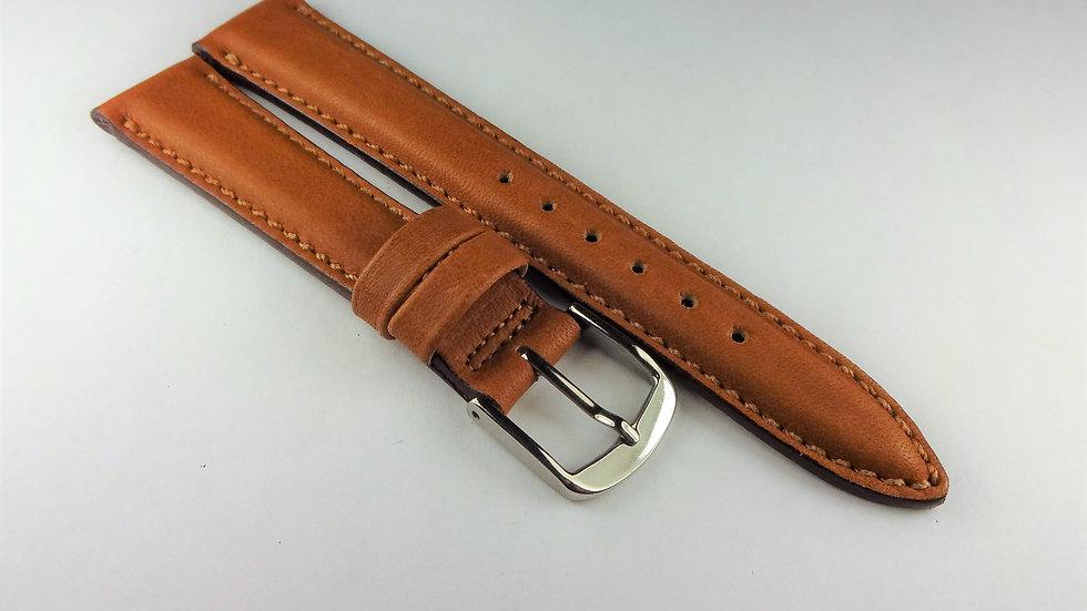 Hamilton 16mm Tan Waterproof Genuine Leather