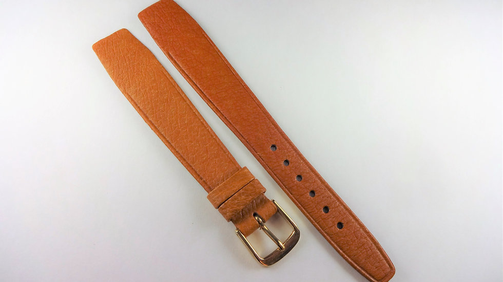 Replacement 18mm Tan Genuine Leather