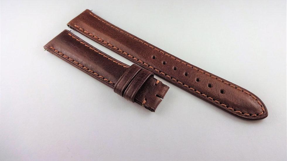 David Yurman 15mm Brown Genuine Leather