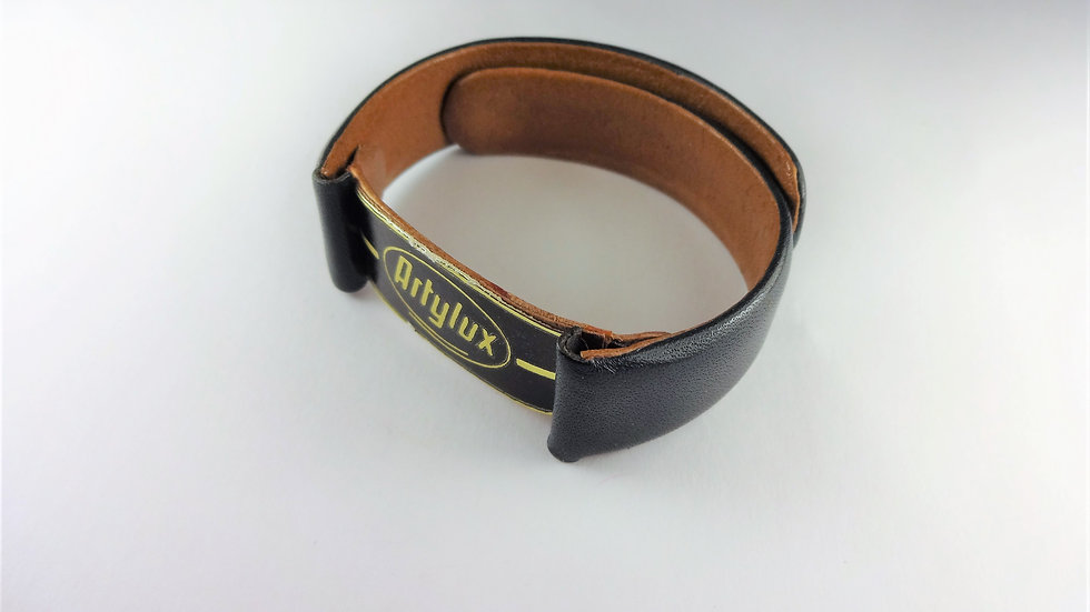 Replacement Artylux 18mm Black Genuine Leather