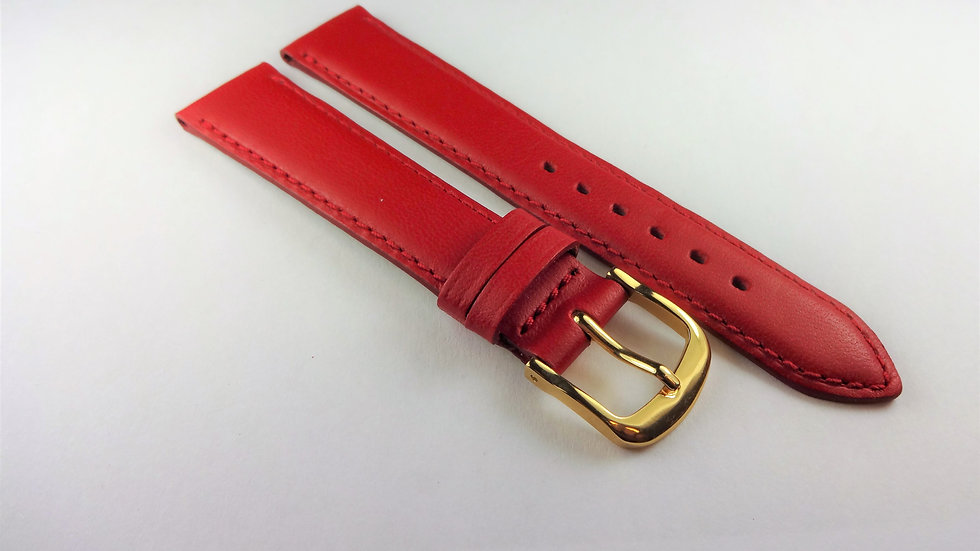 Replacement Box Leather 16mm Red Short
