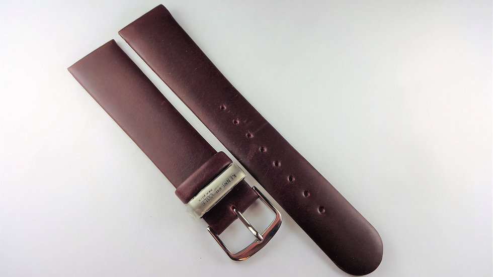 Kenneth Cole 20mm Wine Genuine Leather