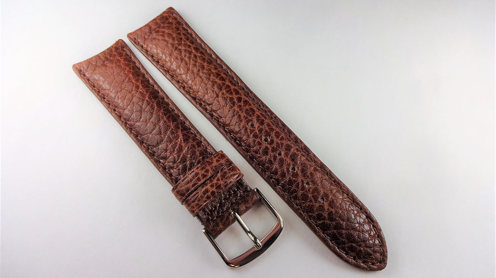Consul 20mm Brown Genuine Pampa Leather