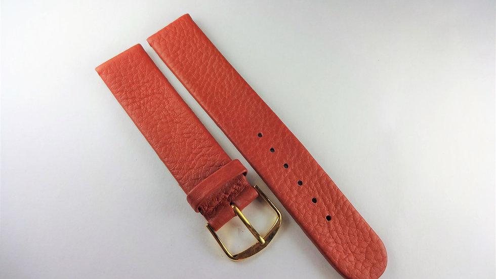Replacement 18mm Burnt Orange Genuine Leather