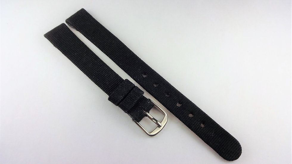 Replacement 11mm Black Genuine Leather Fabric Top