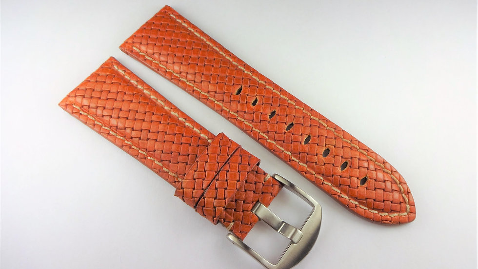 Replacement Hadley-Roma for Panerai 26mm Tan Genuine Leather