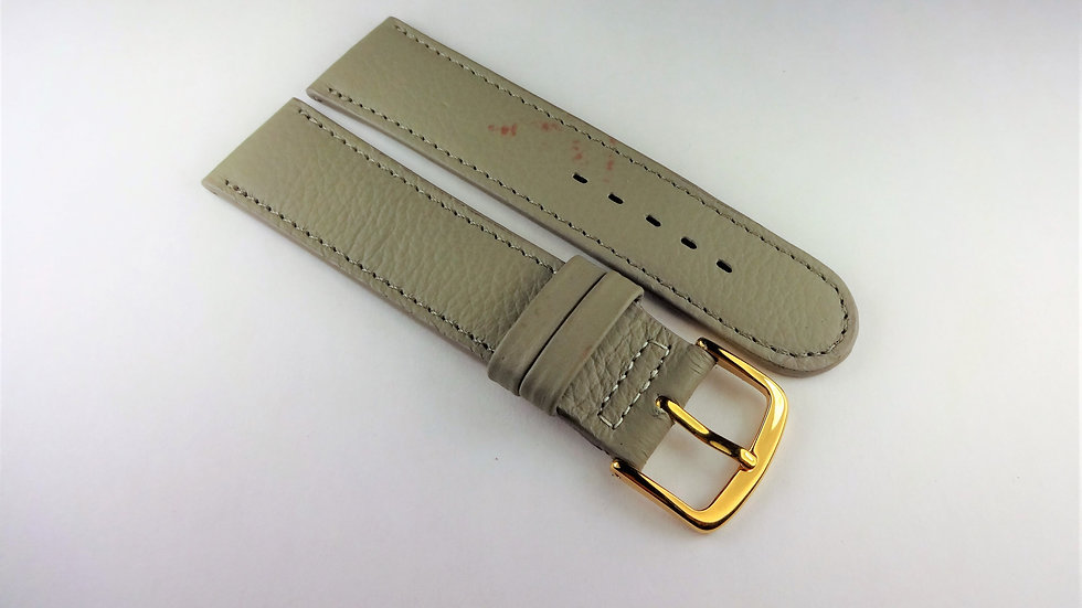 Replacement 19mm Gray Genuine Leather