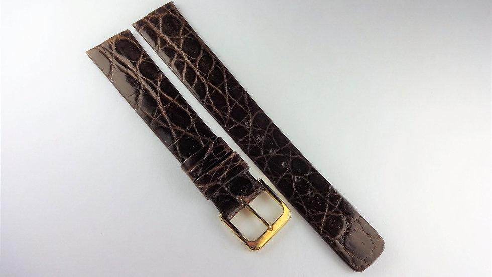 Lassale 17mm Brown Genuine Crocodile