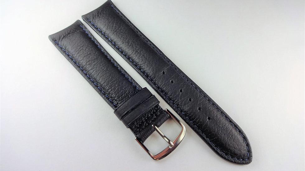 Consul 20mm Dark Blue Genuine Leather For Deployment