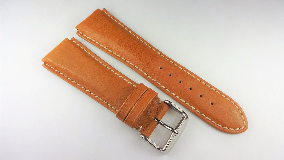 Replacement 22mm Tan Genuine Leather