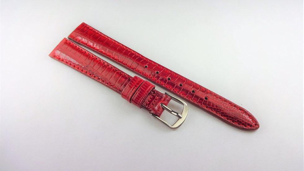 Hamilton 12mm Red Genuine Teju Lizard