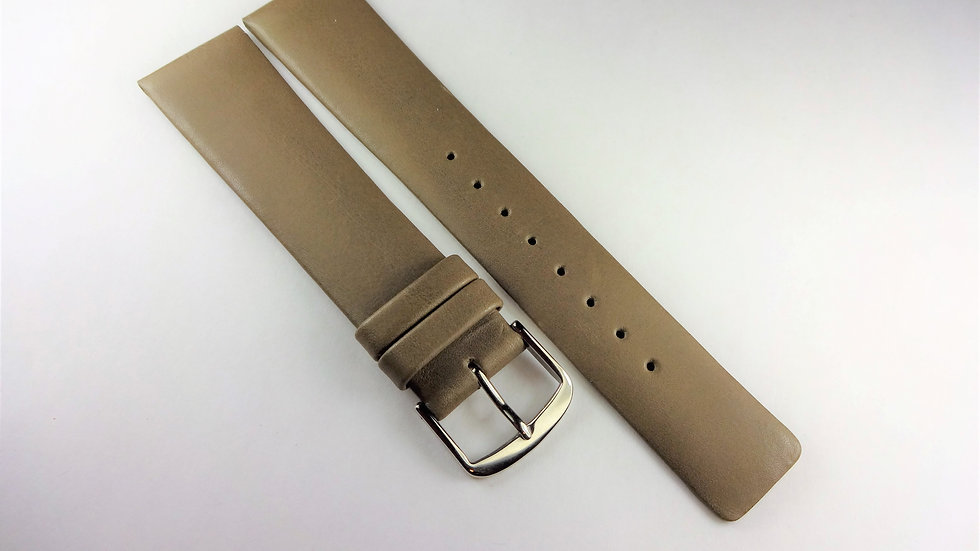 Replacement 21mm Taupe Genuine Leather