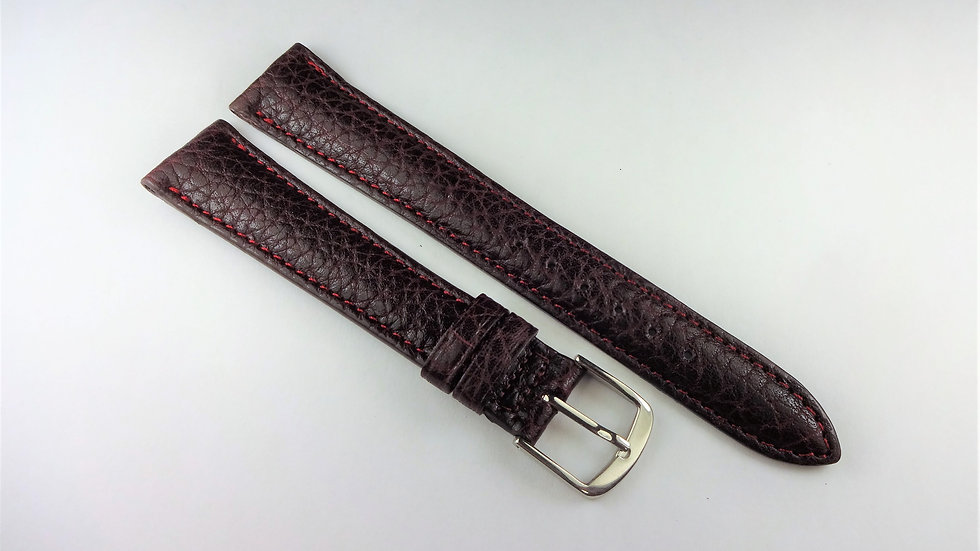 Replacement 17mm Wine Genuine Pampa Leather