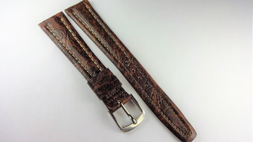 Replacement 18mm Brown Genuine Rancho Leather