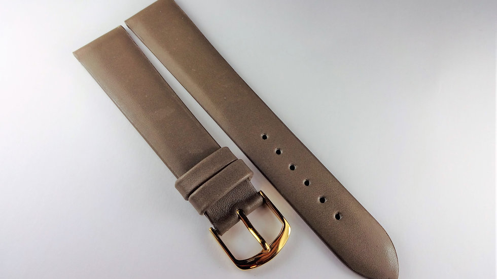 Replacement 18mm Sepia Genuine Calfskin