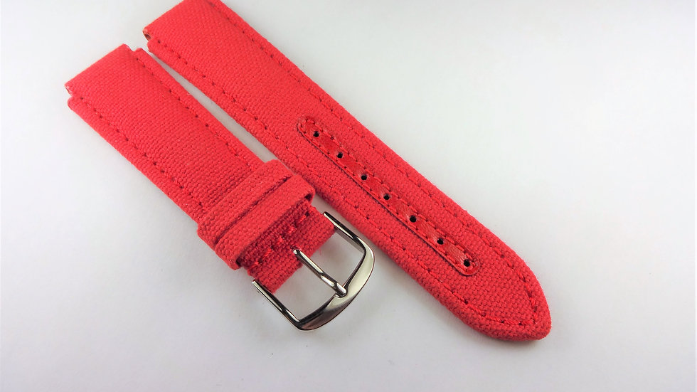 Replacement for Technomarine 17mm Red Fabric