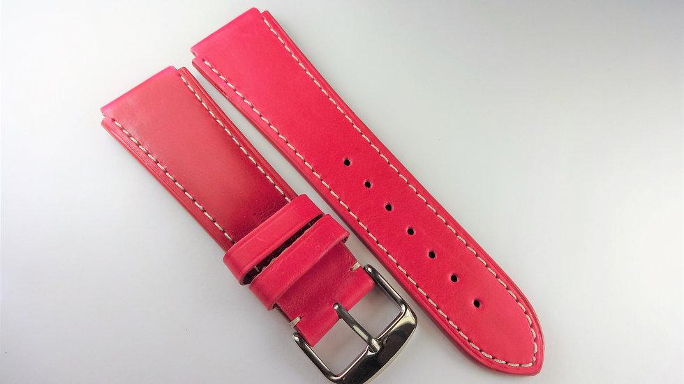 Replacement For Technomarine 20mm Fuchsia Genuine Leather