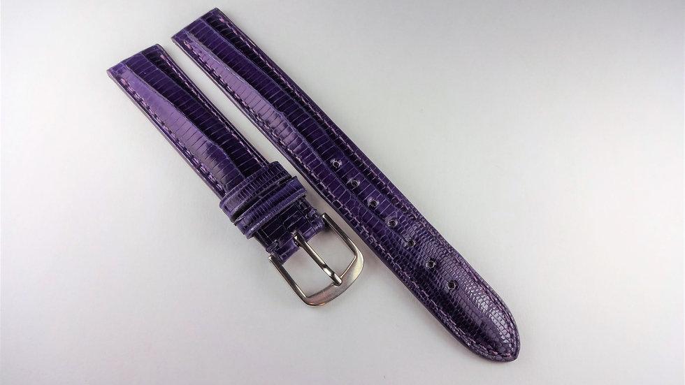 Replacement Purple 15mm Genuine Teju Lizard