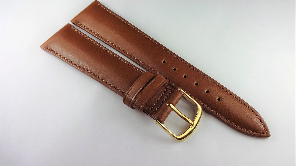 Replacement 19mm Brown Genuine Leather