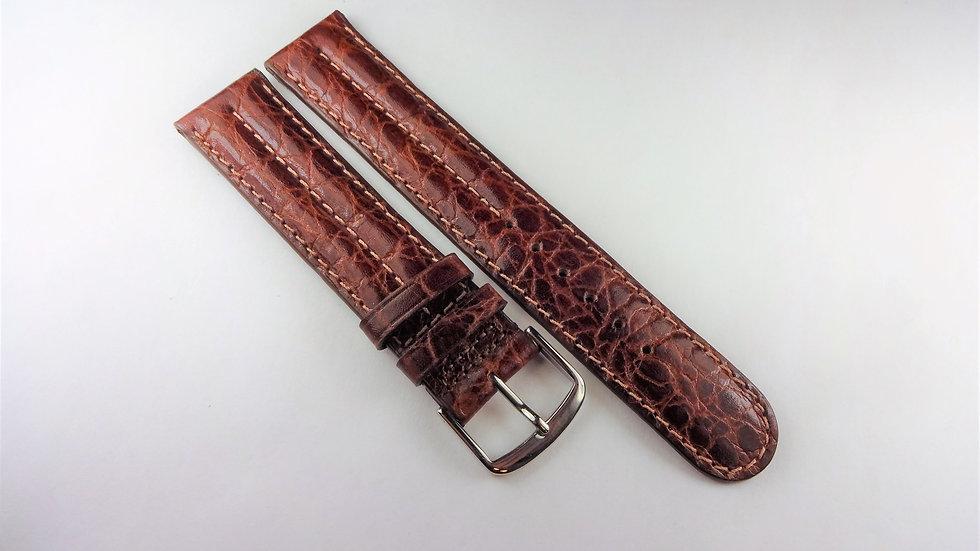 Replacement 18mm Brown Genuine Calfskin