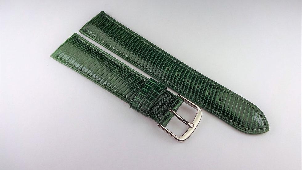 Replacement 19mm Green Genuine Lizard