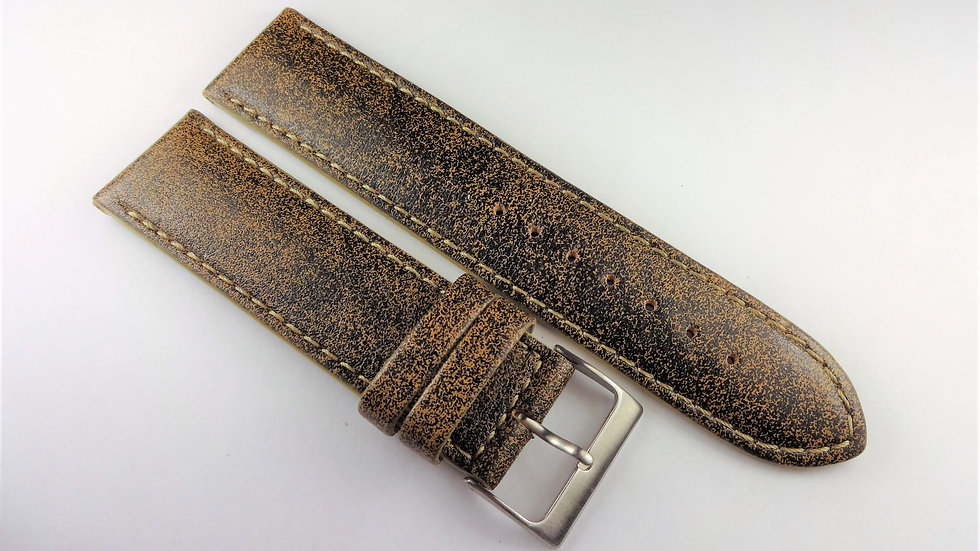 Replacement 22mm Olive Genuine Leather
