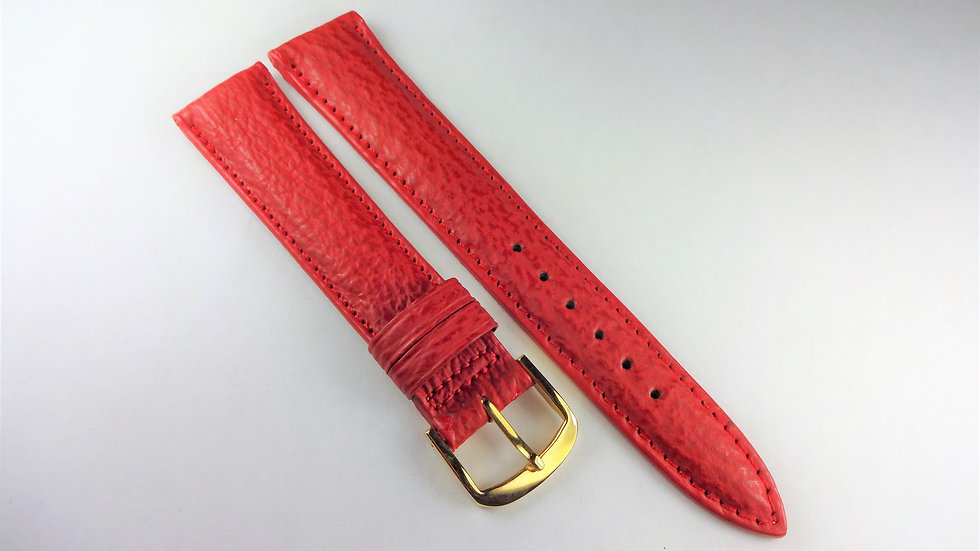 Replacement 18mm Red Genuine Sharkskin