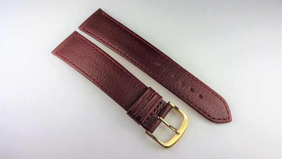 Replacement 20mm Wine Genuine Leather