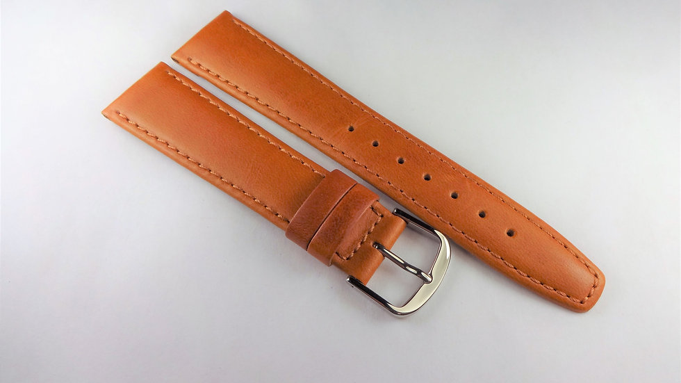 Replacement 19mm Tan Genuine Water Resistant Leather