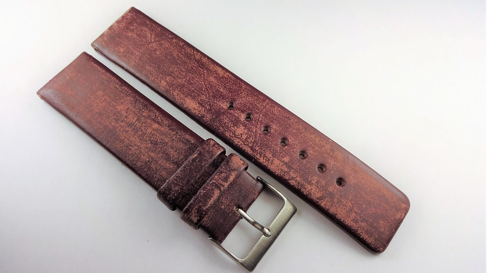 Replacement 22mm Purple Genuine Leather