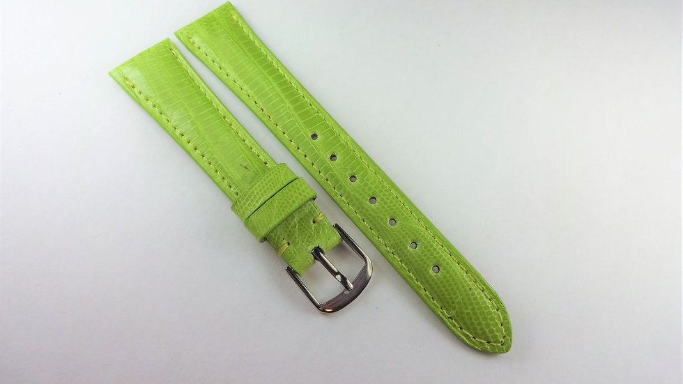 Replacement 16mm Green Genuine Teju Lizard